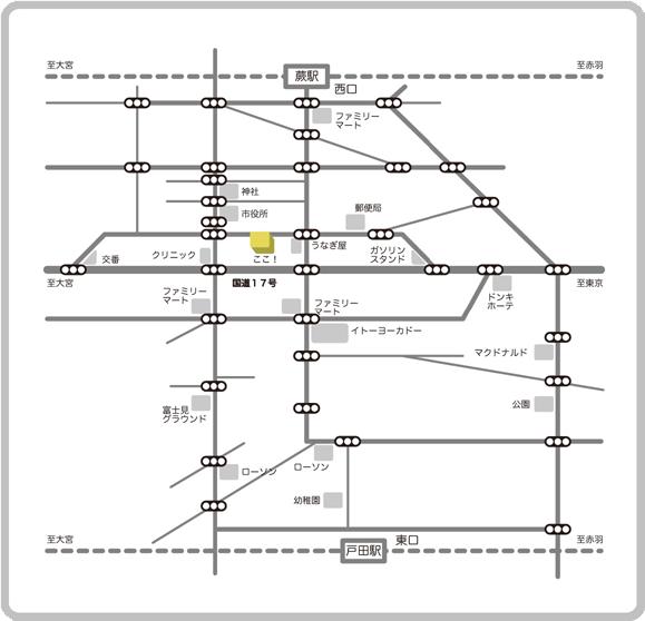 岡田厚生堂薬局MAP